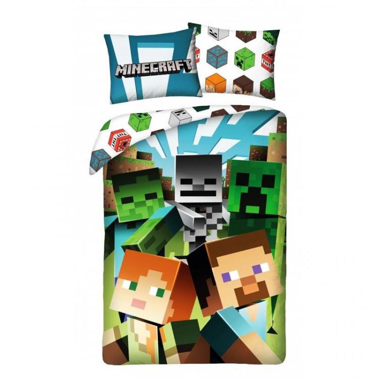 Povlečení Minecraft Alex a Steve